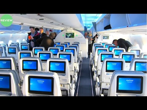 BRIGHT FINNAIR A350 Economy Class Review | Helsinki to Gothenburg Flight Experience!