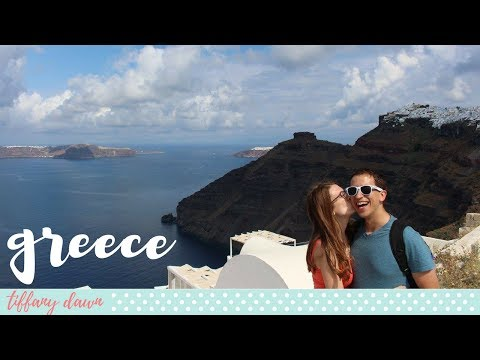 GREECE + SANTORINI | Europe Vlog 2017 (Part 6/6)