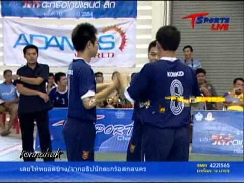 2011 Sepak Takraw Thailand League ''Loei vs Phrae 6 of 6