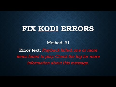 Kodi ProSport Error: How to fix - Method #1
