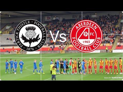 Aberdeen fc vs Patrick thistle unbelievable (goals and more ) !!!