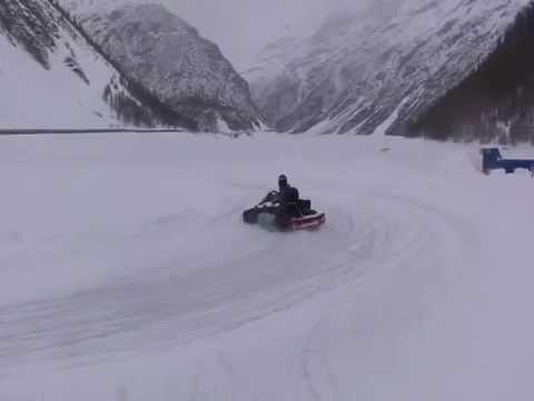 livigno kart Weronika Bukwald Drift Kart Livigno   YouTube