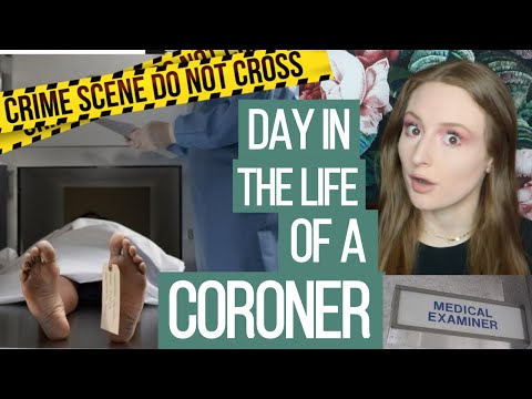 questions you've ALWAYS wanted to ask a CORONER / MEDICAL EXAMINER