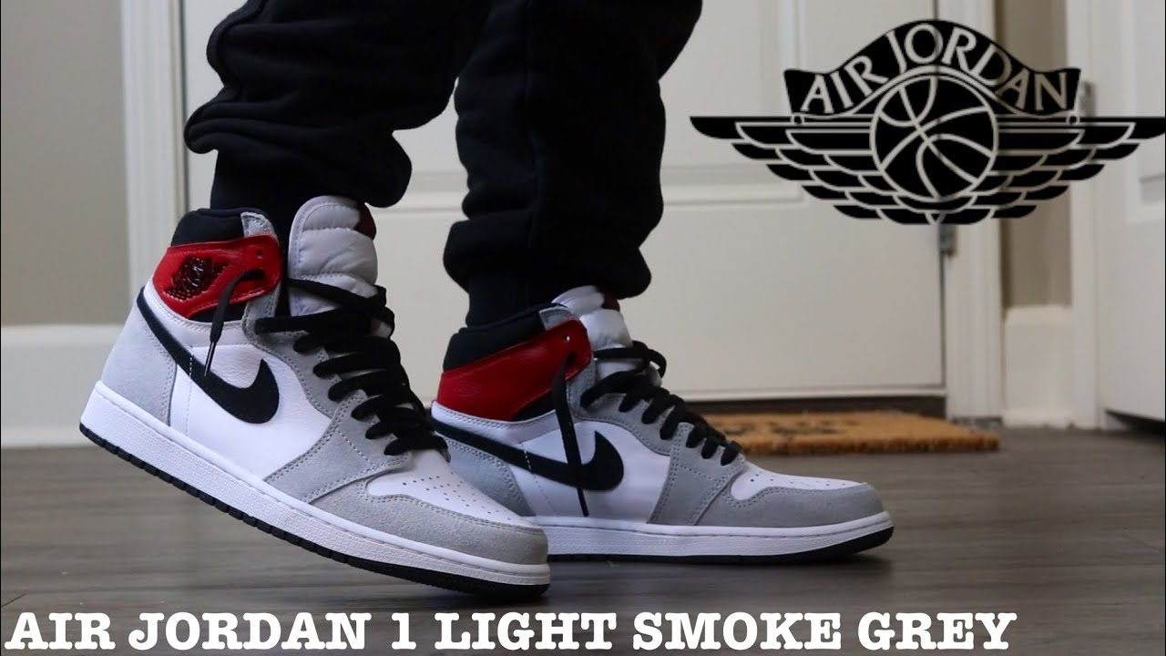 Early Look Review And On Feet Of The Air Jordan 1 Light Smoke Grey Best 1 S Of The Year Youtube