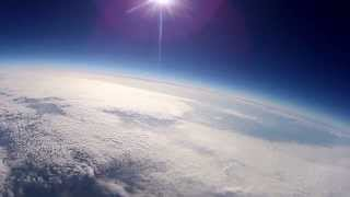 Space Balloon, GoPro on a journey to the stratosphere