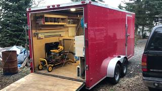 Mobile Tool Trailer
