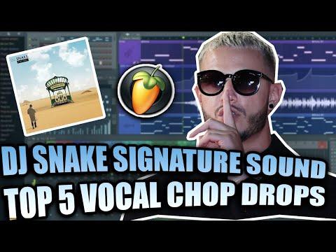 DJ SNAKE TOP 5 VOCAL DROPS REMADE + FREE FLP
