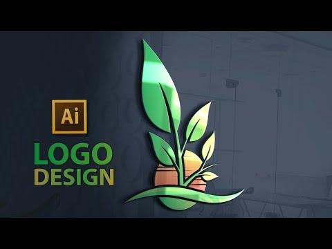 Logo Design Tutorial    How to Design a Logo In Illustrator cc !! thumbnail