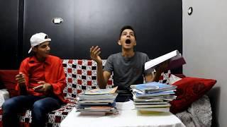لما ابوك يدخل عليك وانت بتذاكر فى رمضان | خالد فاندتا