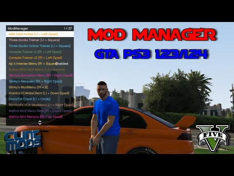 how to get gta mods ps3 working jailbreak