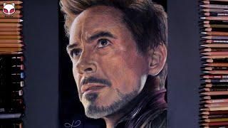 Drawing Iron Man(Avengers: Endgame, 2019) - Robert Downey Jr. 아이언맨 그림 그리기 [Mystic]
