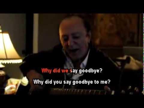 Dave MacLean - We said goodbye - Karaoke