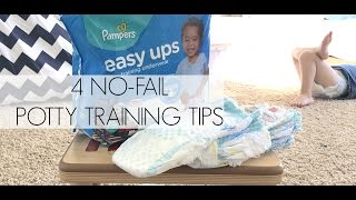 4 No-Fail Potty Training Tips