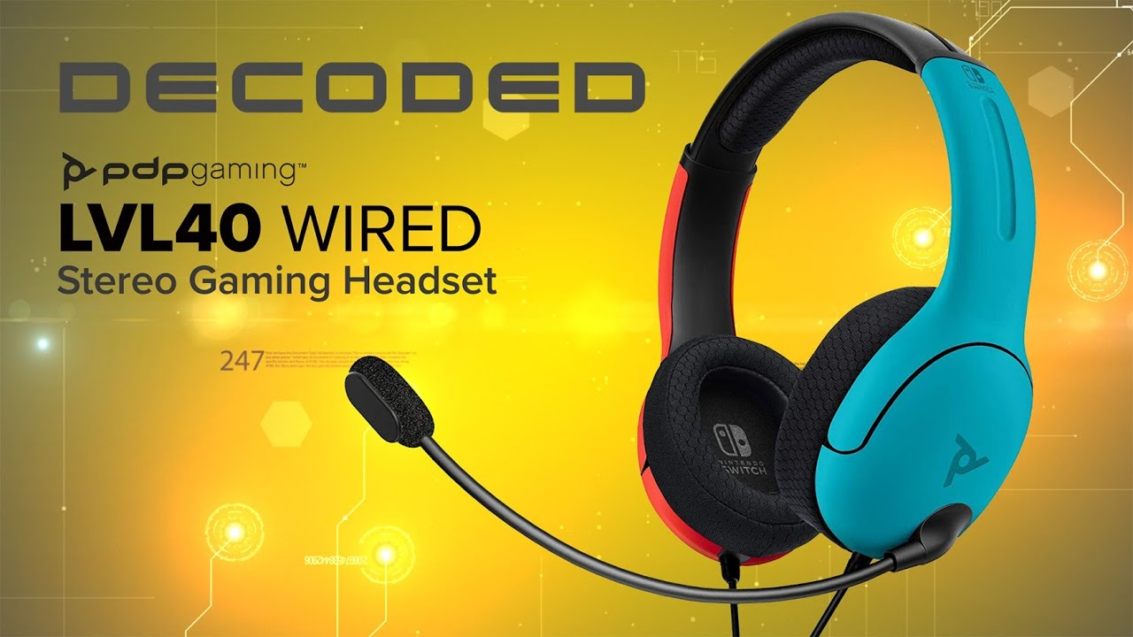 PDP Gaming LVL40 Wired Headset Review