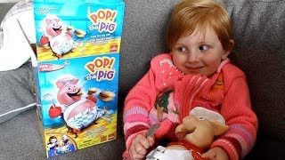 MOM & DAUGHTER PLAY POP THE PIG