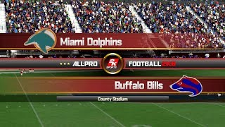 APF 2K8: 1993 - Miami Dolphins vs Buffalo Bills