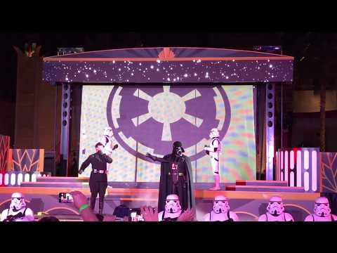 Star Wars: Galactic Nights - Imperial March  with Darth Vader