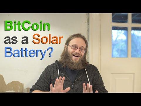 Bitcoin as a Solar Battery