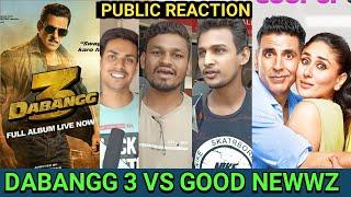 Good Newwz Vs Dabangg 3 Public Reaction,Akshay Kumar, Salman Khan, Prabhu Deva,Diljit Dosanjh