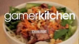 Vietnamese Bbq Pork W/ Rice Noodle Salad - Episode 11 - Gamerkitchen