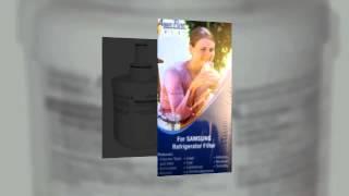 Samsung DA29-00003G Aqua-Pure Plus Refrigerator Water Filter - Video Reviews
