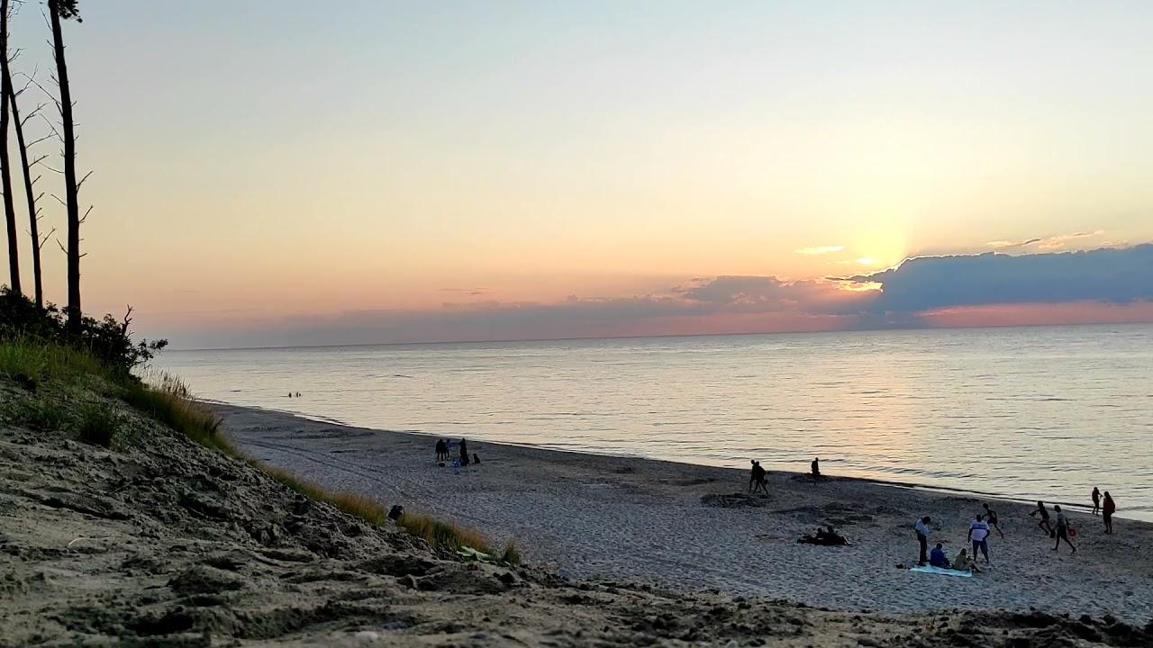 Zachód Słońca nad Bałtykiem 28.07.2021