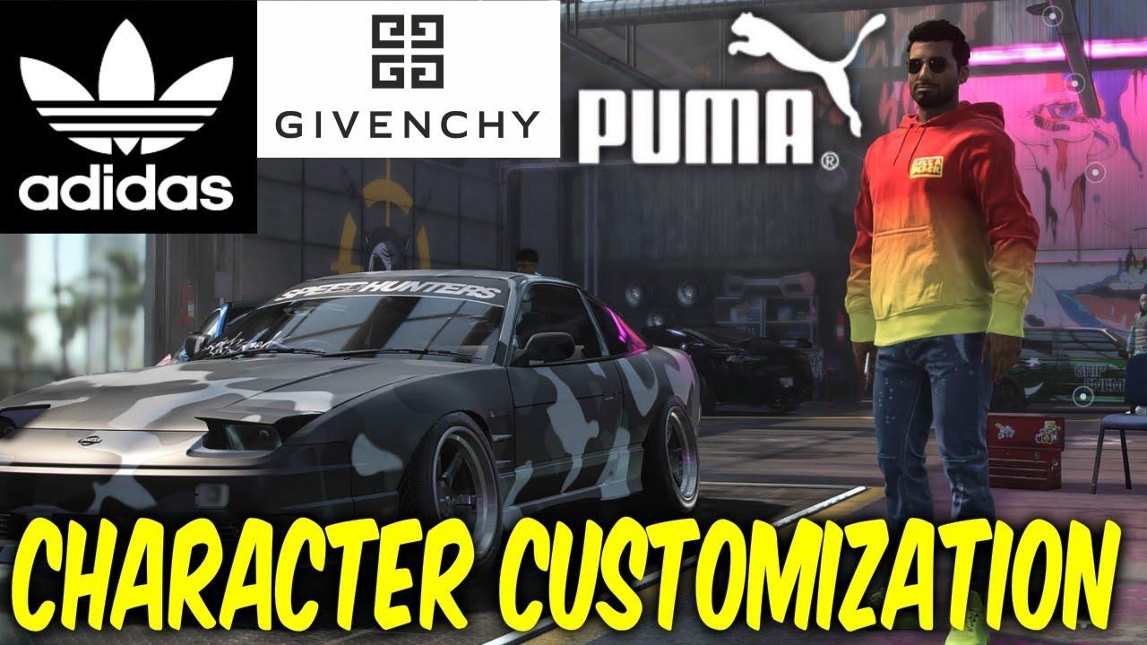 Need For Speed Heat Character Customization Youtube