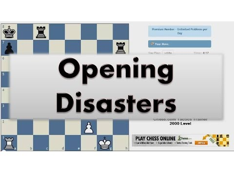 Opening Disasters #002 Tatai vs Korchnoi French Exchange KO