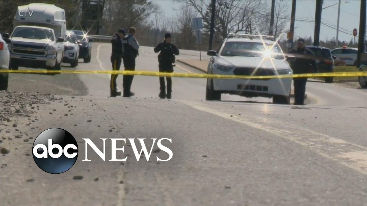 16 dead in Nova Scotia shooting rampage