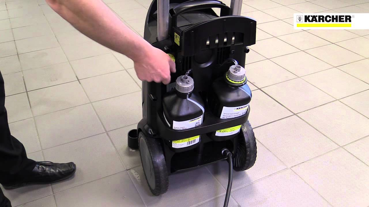 Karcher Hd 7 11 4 M Plus Commercial Pressure Washer Youtube