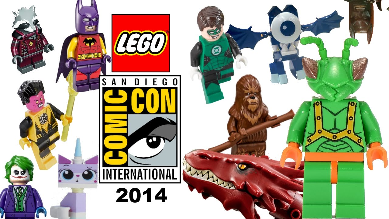 Lego Comic Con 2014 My Thoughts 2015 Lego Movie Sets Green Lantern Smaug Marvel And More Youtube
