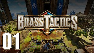 Brass Tactics - Let's Play Part 1: Nedane Academy
