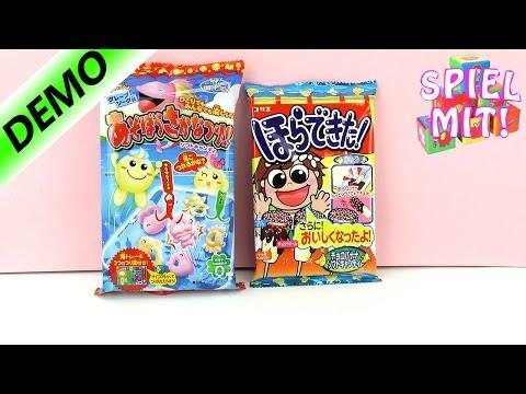 Poppin Cookin | DIY Süßigkeiten selber machen | Zwei coole Sets DEMO Japanische Süßigkeiten