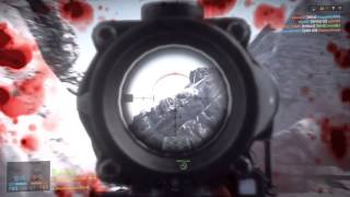 BF4 enemy soldier above take cover!