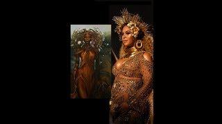 Oshun la démone des eaux vénérée par Beyoncé  (Le panthéon des Orishas)