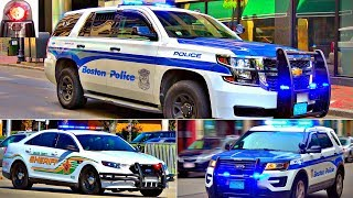 Police Cars Responding Compilation - BEST OF 2017 - Lights and Sirens