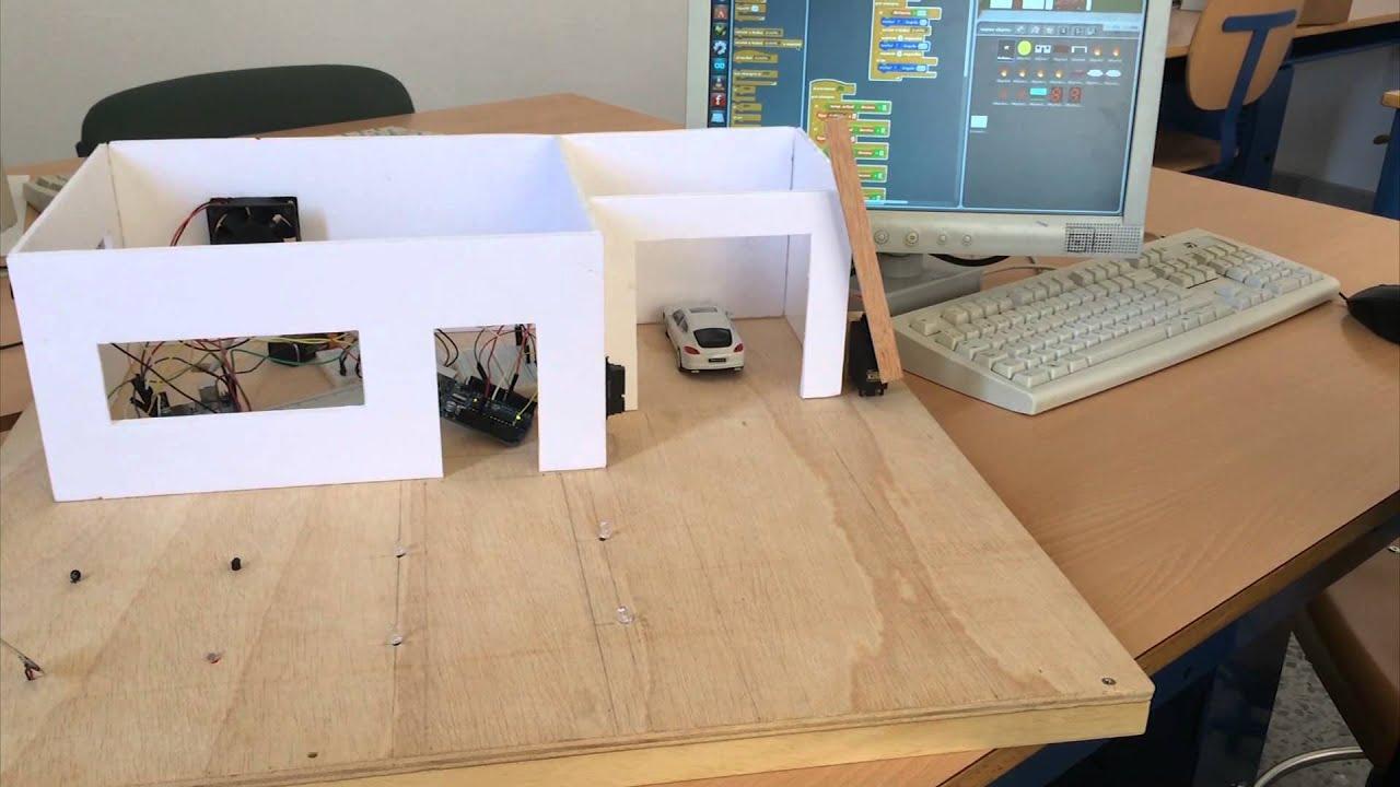 usos educativos de la robotica una casa inteligente youtube
