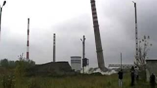 ZRI SPEC Wyburzanie kominow Huta Czestochowa