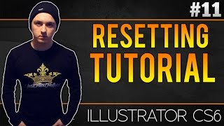 How To Reset Adobe Illustrator CS6 To Its Original Settings - Tutorial #11