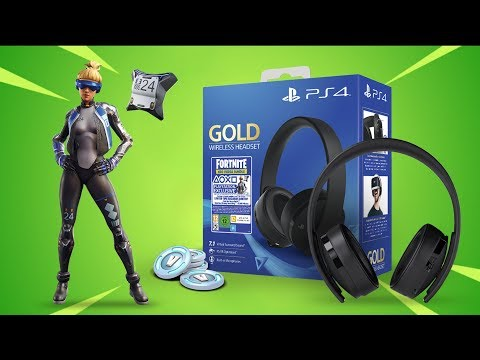 Unboxing Gold Wireless Headset + Como Canjear Skin NEO VERSA