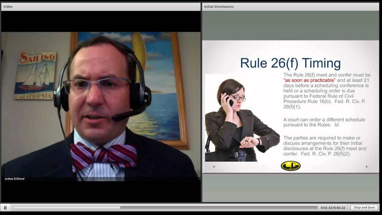 Initial Disclosures Pursuant to Federal Rule of Civil Procedure ...