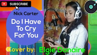 Nick carter (cover by:) elgie donaire ...