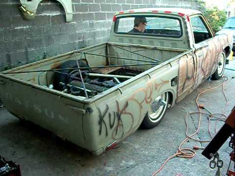 Rat Rod Themed Datsun Mini (2) | Doovi