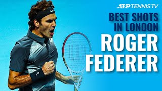 Roger Federer: Best ATP Finals Shots In London!