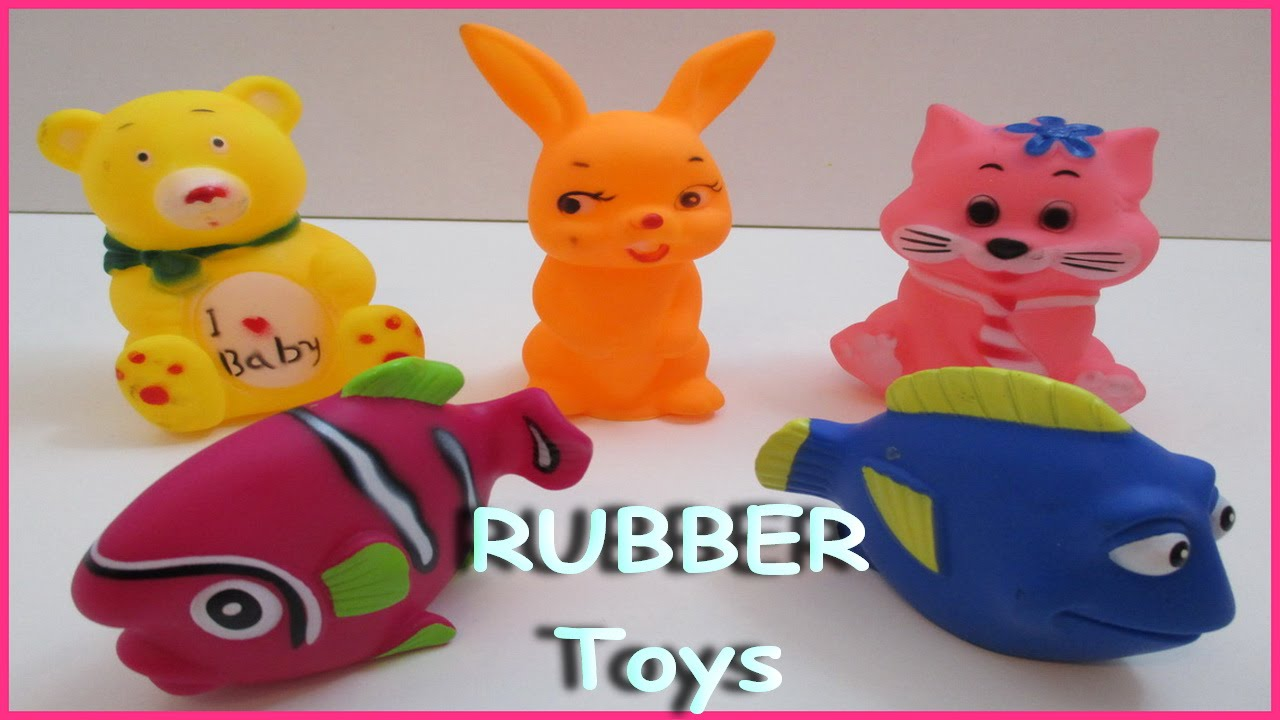 PLAy & Learn Colors and Animals - Fish w/ Rubber Toys & Fun ...