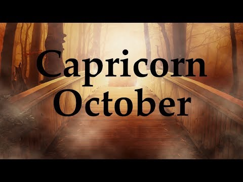 Capricorn October 2017 SO CLOSE TO A DREAM, BUT WHAT'S BEING REVEALED? - Aquarian Insight