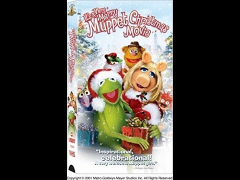 to It's a Very Merry Muppet Christmas Movie 2003 VHS