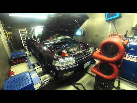 1990 Honda Accord CB7 Euro-r H22 Dyno