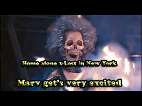 Home alone 2- Marv gets so excited