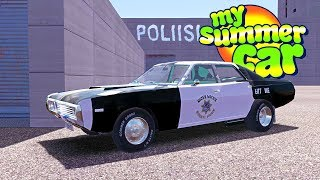 MY SUMMER NEW POLICE JOB! - My Summer Car Gameplay Highlights Ep 104